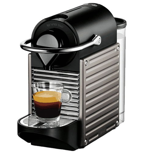 Nespresso Pixie c60ti Electric Titan